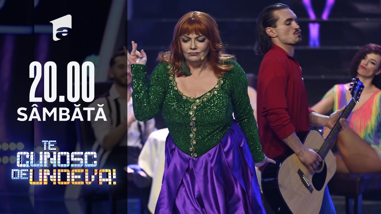 """Emilia Popescu se transformă în Sophia Loren - """"Tu Vuo Fa l'Americano"""", la Te cunosc de undeva!"""