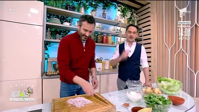 Pui în două sosuri, rețeta lui Chef Nicolai Tand