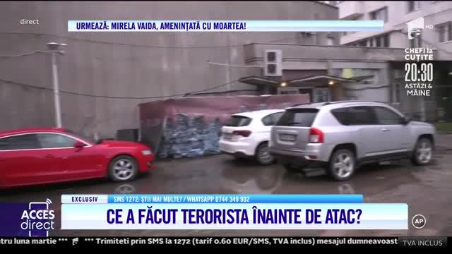 Ce a făcut terorista înainte de atac