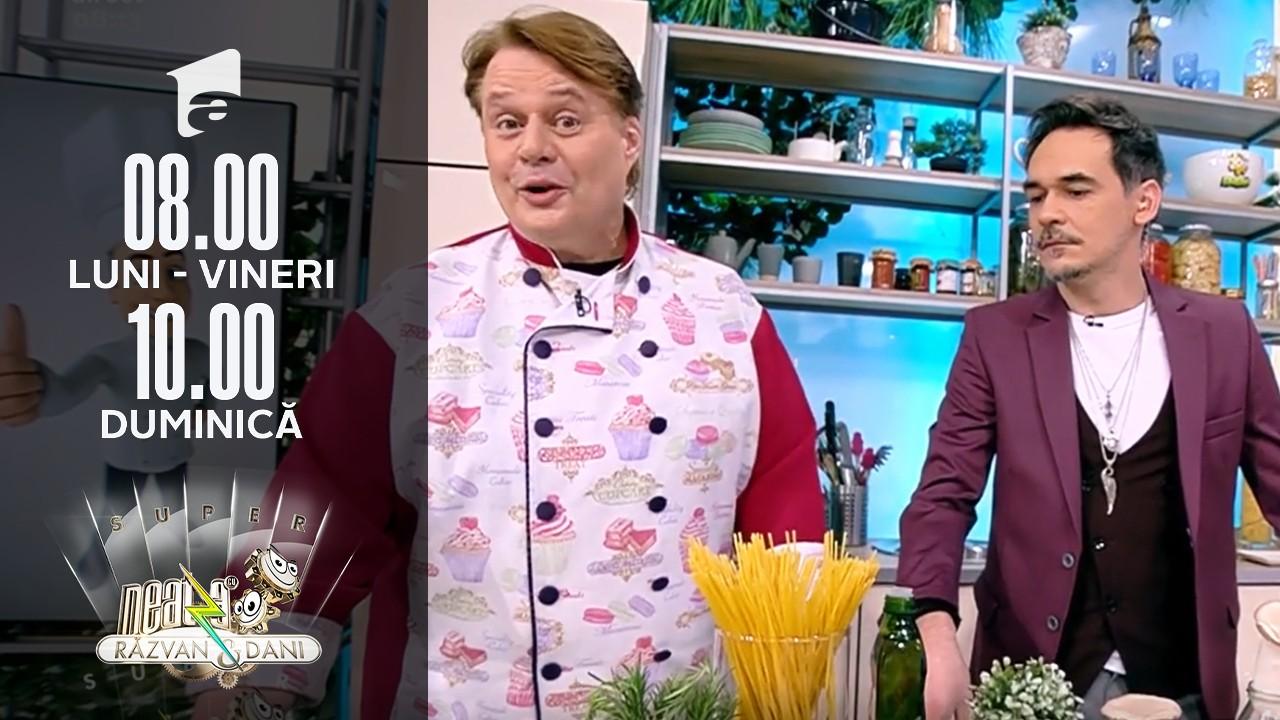 Spaghete cochete, rețeta lui Vlăduț de la Neatza cu Răzvan şi Dani