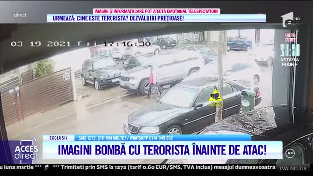Terorista care atacat-o pe Mirela Vaida a avut un plan bine pus la punct