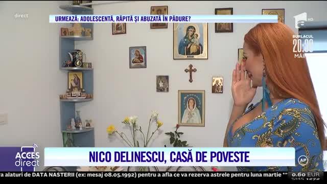 Nico Delinescu are o casă de poveste