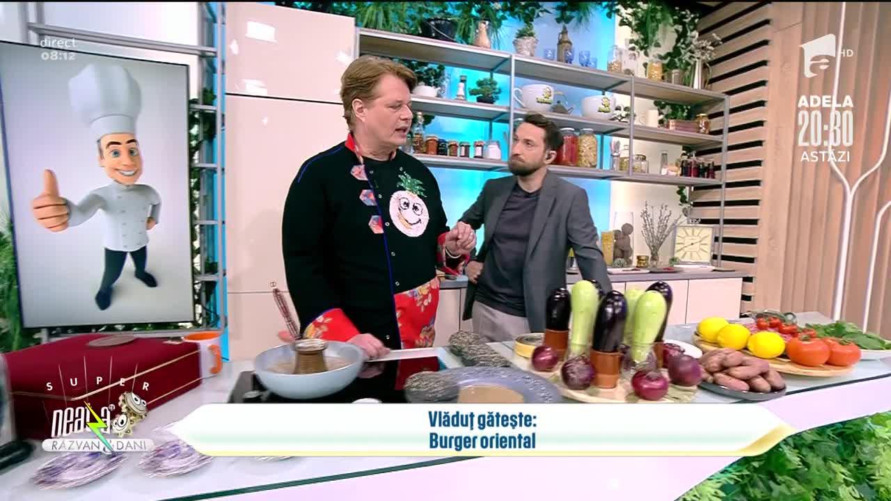 Burger oriental, rețeta lui Vlăduț de la Neatza cu Răzvan şi Dani