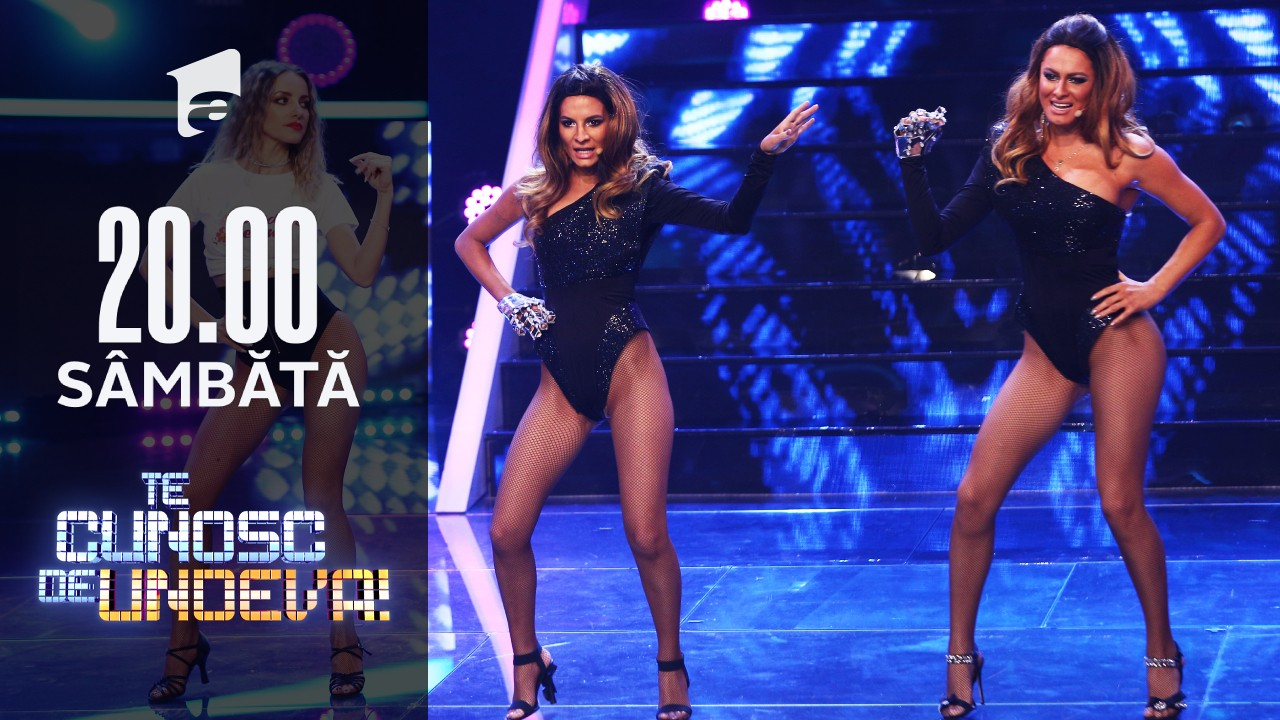 """Ana Baniciu și Raluka se transformă în Beyonce - """"Single Ladies"""", la Te cunosc de undeva!"""