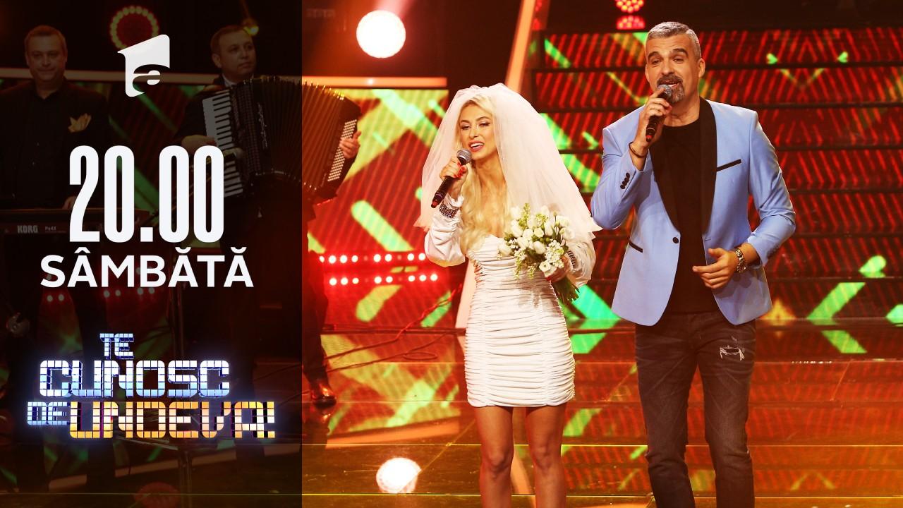 Andreea Bălan și Aurelian Temișan, super show la Te cunosc de undeva!