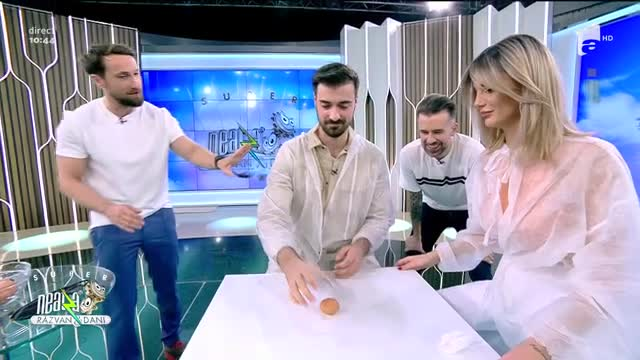 AMNA și Liviu Teodorescu, super provocare la Neatza!