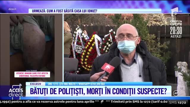 """Tatăl tănărului torturat de nouă polițiști: Pe certificatul de deces scrie """"cauze neprecizate"""""""