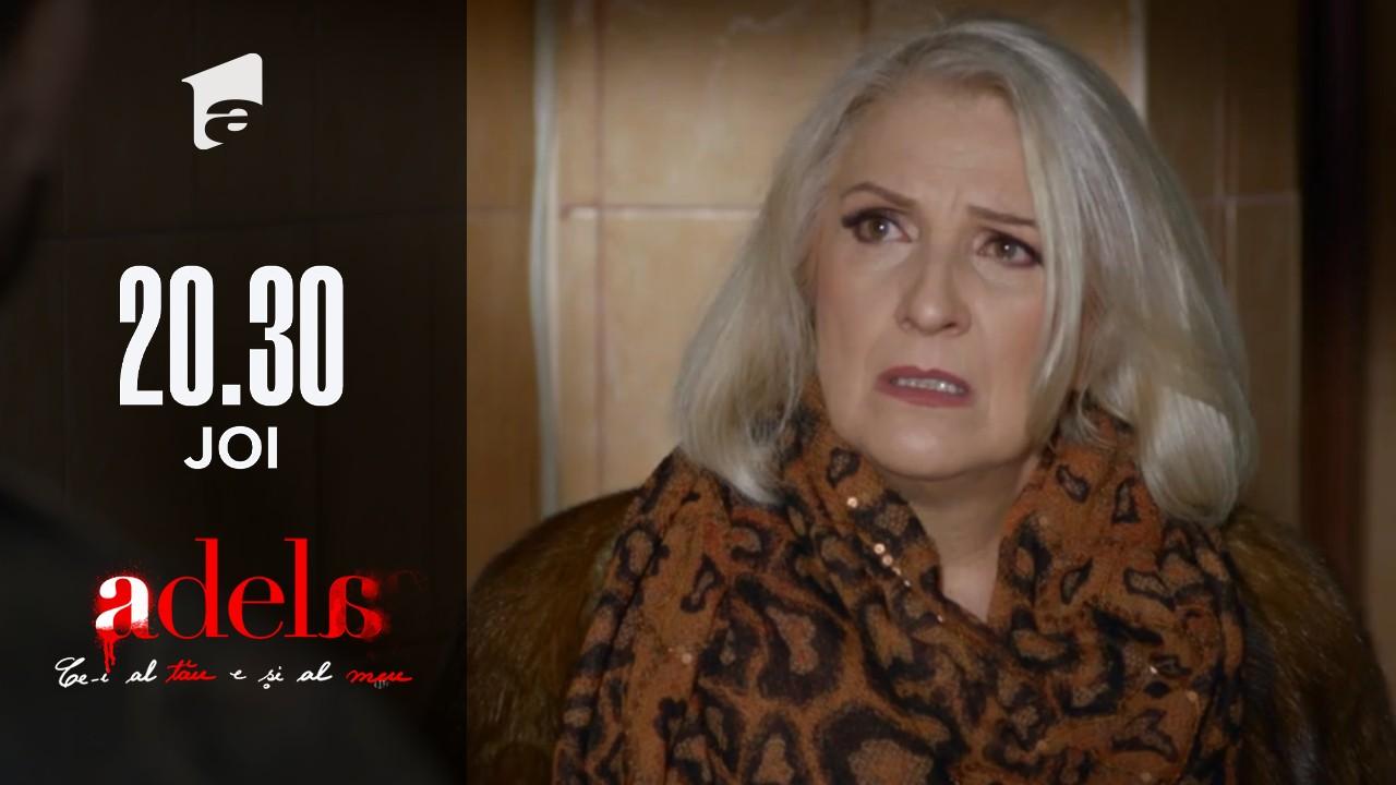 Adela, episodul 23. Bebe o amenință pe Martha Andronic: Am omorât pentru tine!