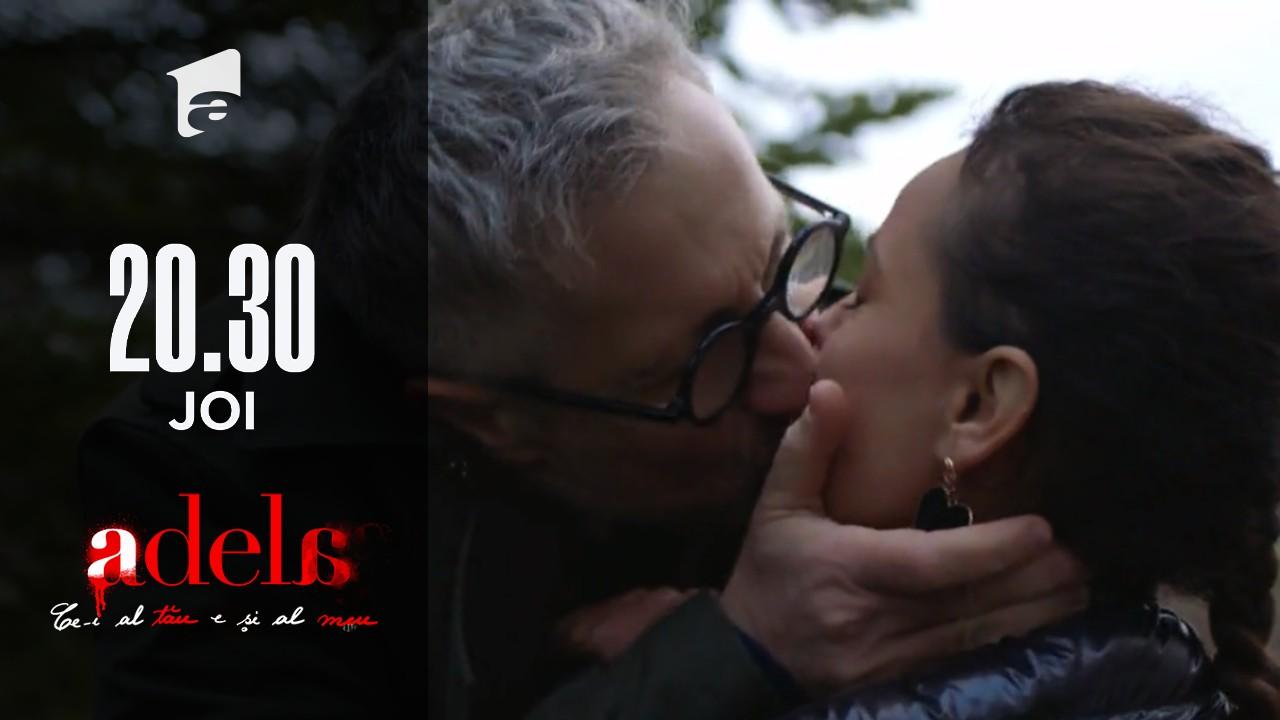 Adela, episodul 24. Dorin Draghici și Laura, sărut pe ascuns