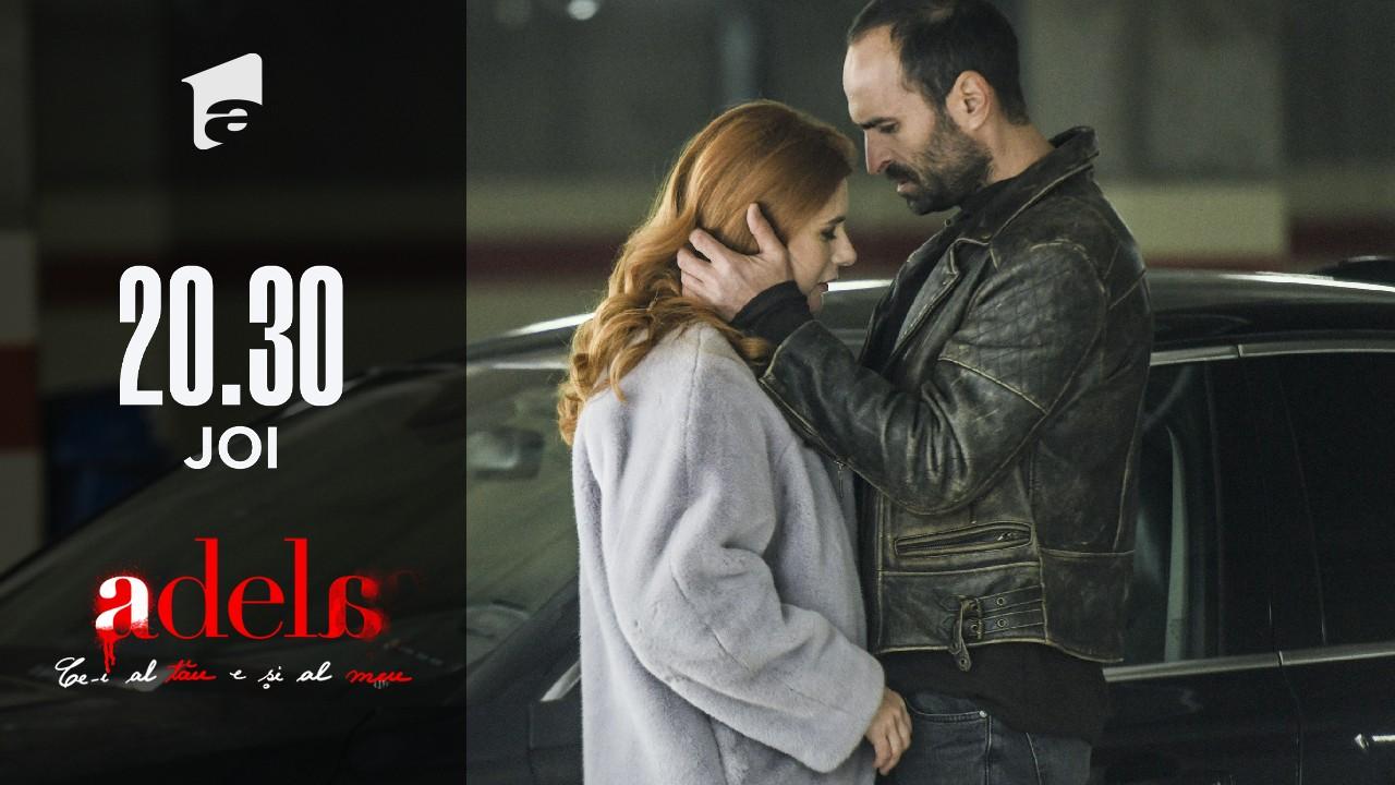Adela, episodul 24. Bebe o sărută pe Delia Draghici!