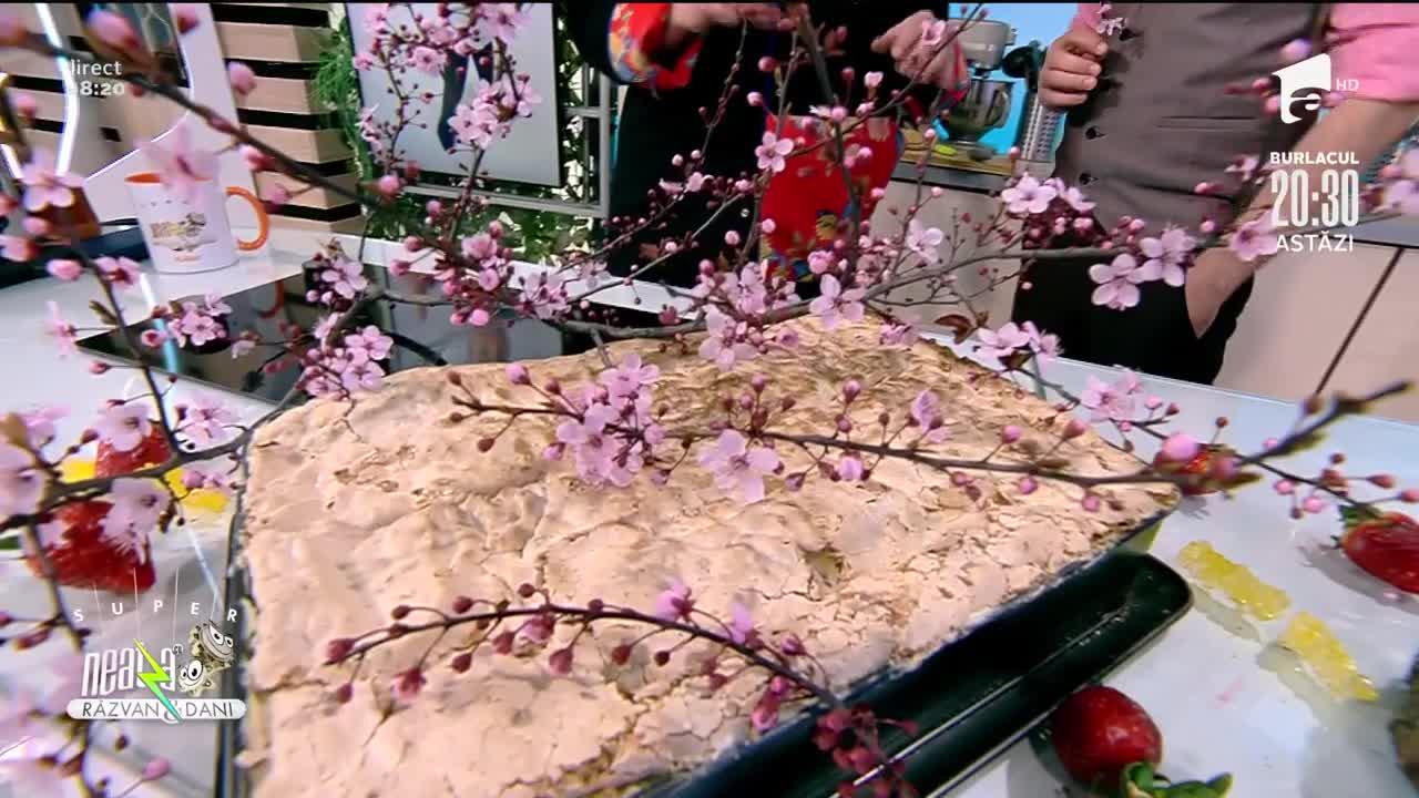 Prăjitură Ramona, cel mai delicios deșert de la Super Neatza
