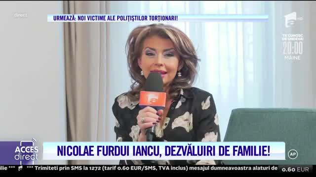 Nicolae Furdui Iancu, dezvăluiri de familie