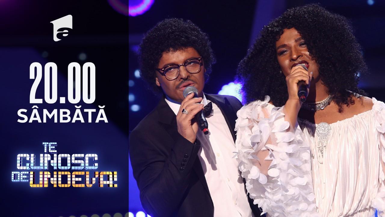 Liviu Vârciu și Andrei Ștefănescu se transformă în Diana Ross & Lionel Richie - Endless Love