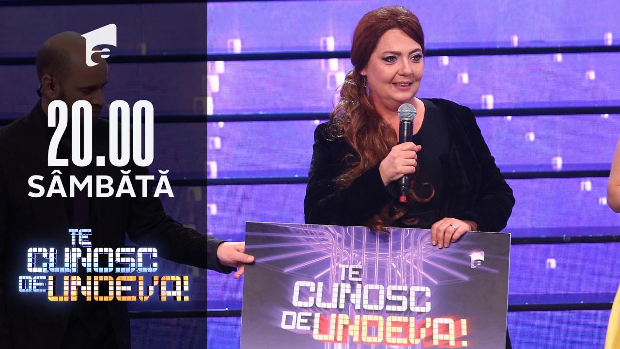 """Emilia Popescu a câștigat a noua ediție a sezonului 16 """"Te cunosc de undeva!"""""""