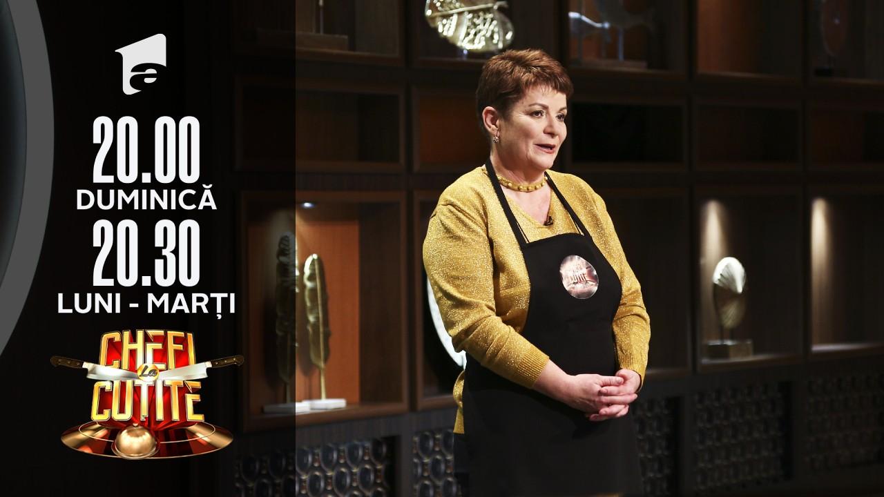 """Ioana Tihan gătește """"gomboți cu prune"""" la Chefi la cuțite"""