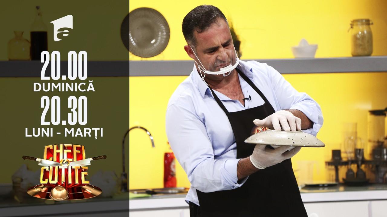 Majid Nasr le-a gătit juraților Chefi la cuțite un orez arăbesc