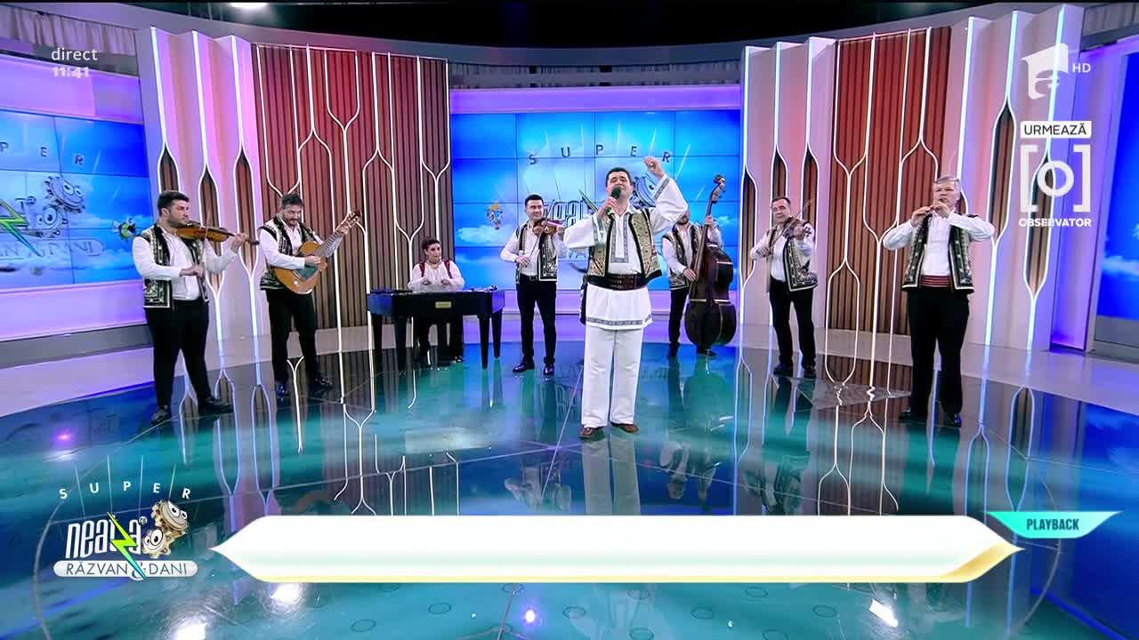 "Gelu Voicu & Orchestra Populară ""Flacăra Prahovei"" - Unde a pus mândra casa"