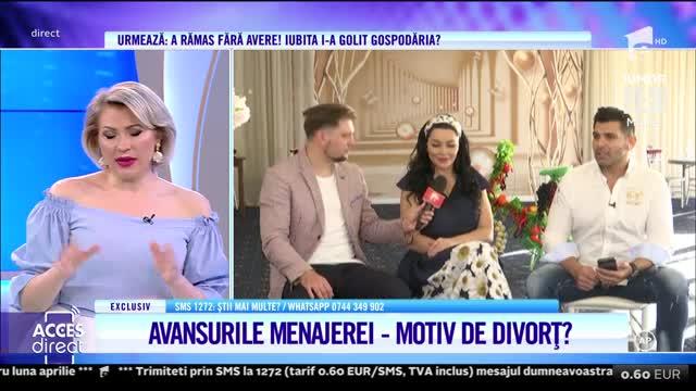 Brigitte Pastramă tună şi fulgeră, după ce menajera i-a făcut avansuri lui Florin Pastramă