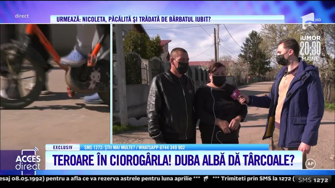 Zeci de localnici din comuna Ciorogârla stau cu frica în sân, după ce şoferul unei dube ar fi încercat să le răpească copiii