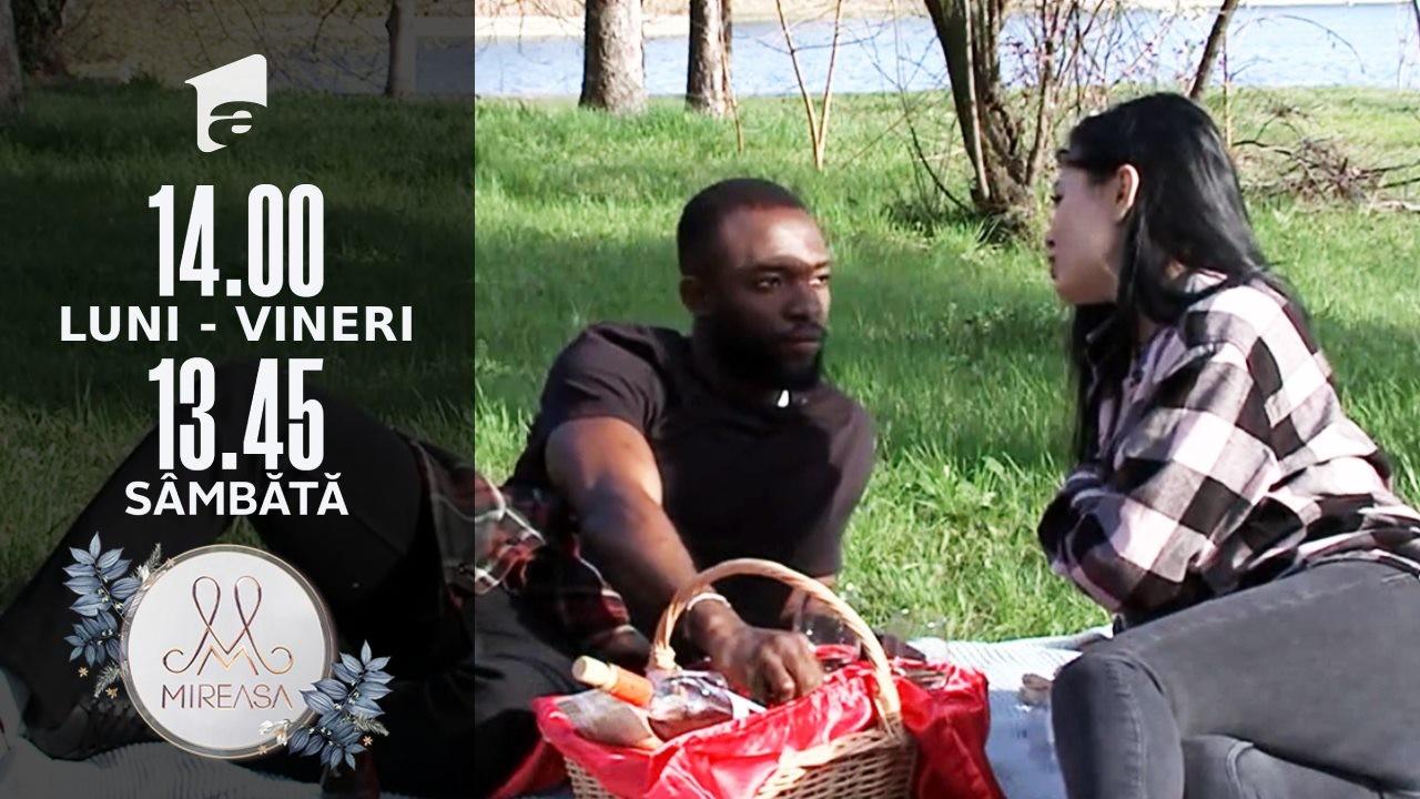 Izabela și Blaze, picnic în doi de neuitat