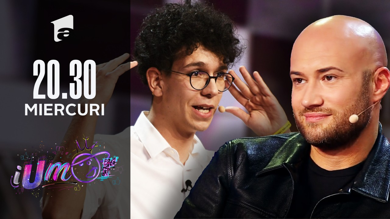 Ștefan Creangă, debut în stend-up la iUmor!