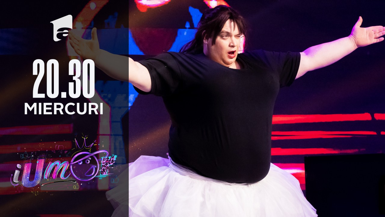 Cristian Grigorescu, balet pe scena iUmor!
