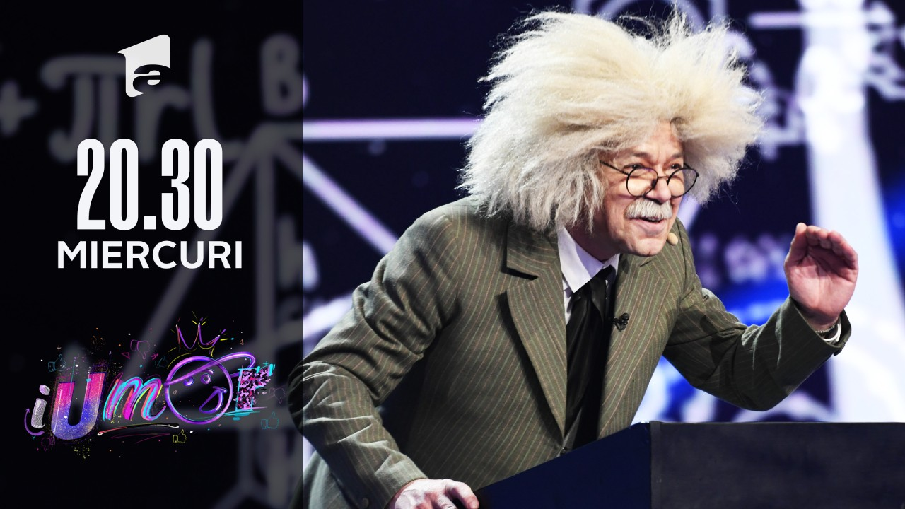 Albert Einstein, roast istoric pe scena iUmor!