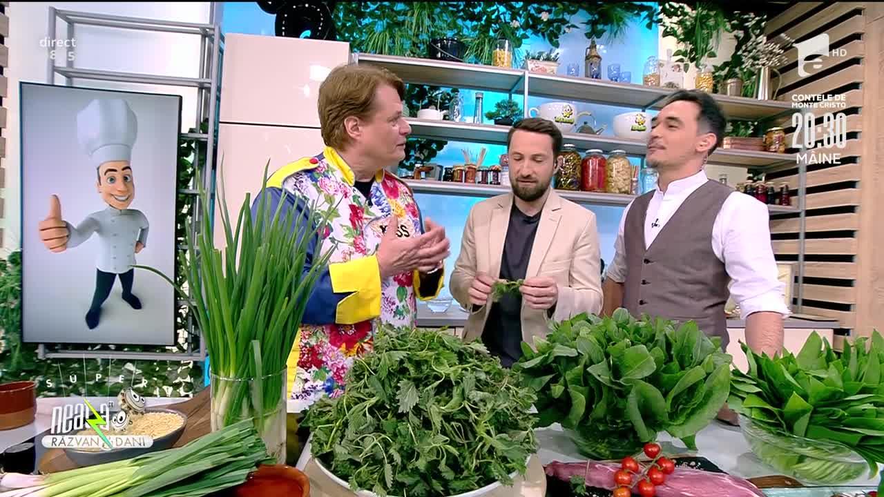 Grădina cu pupici, rețeta lui Vlăduț de la Neatza cu Răzvan şi Dani