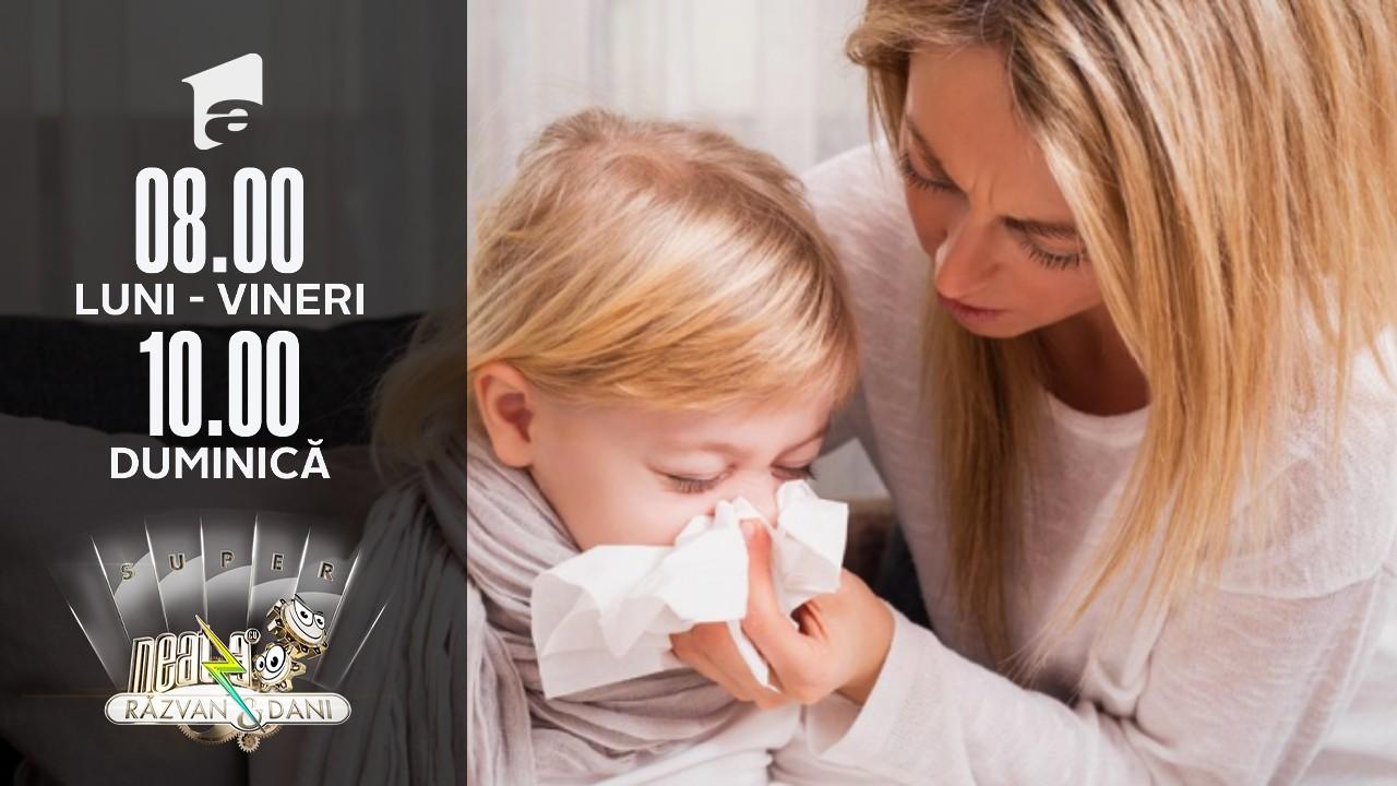 Virozele respiratorii la copii. Cum îi ajutăm pe cei mici să treacă mai ușor peste ele