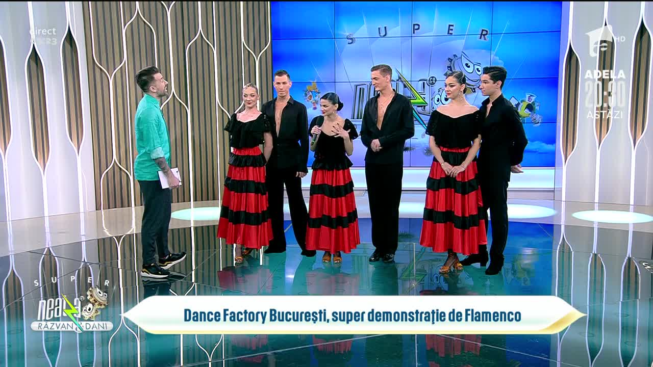 Dance Factory București, demonstrație de flamenco la Neatza