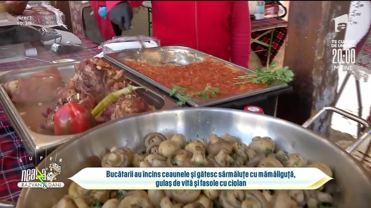 Invitație la mâncare tradițională românească. Unde are loc evenimentul