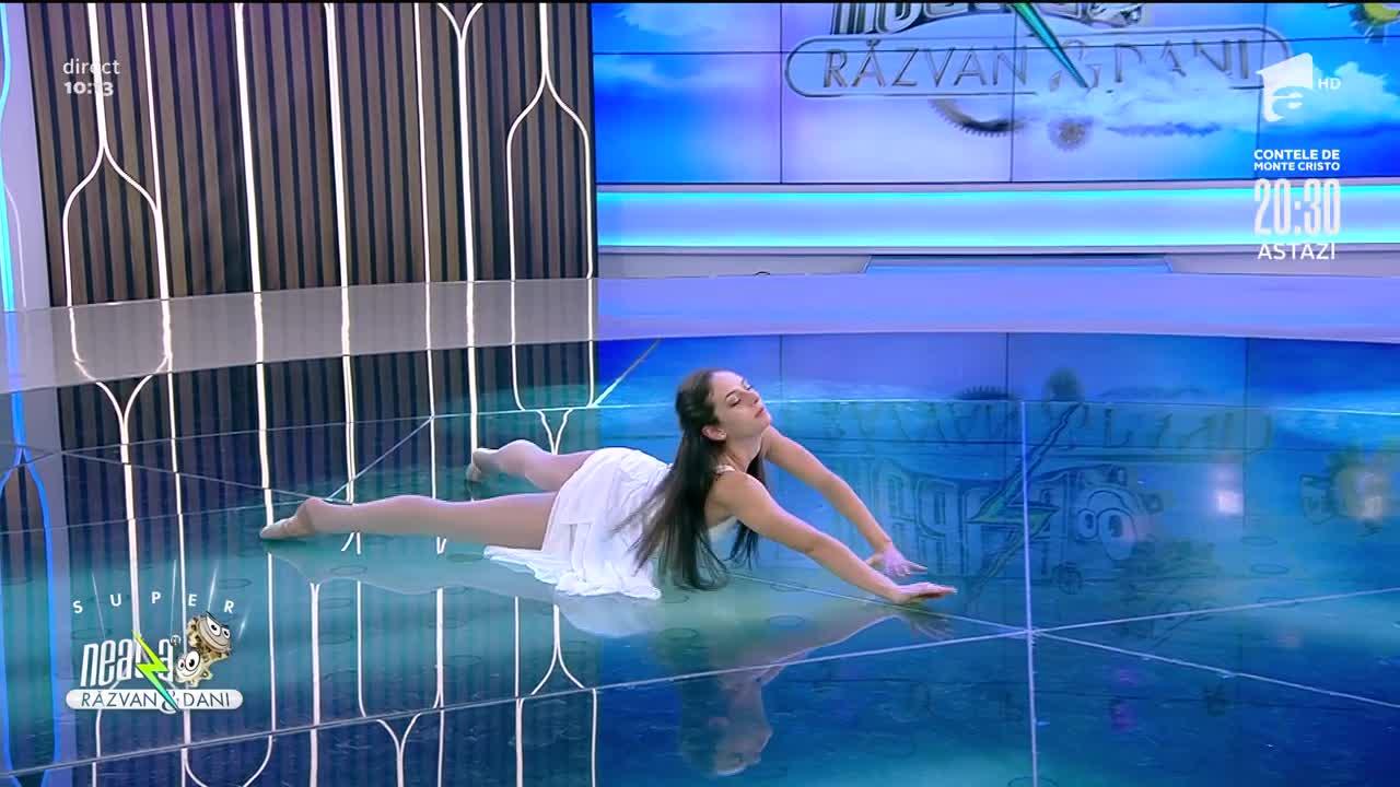 Alina Radu, super dans contemporan plin de emoție la Neatza