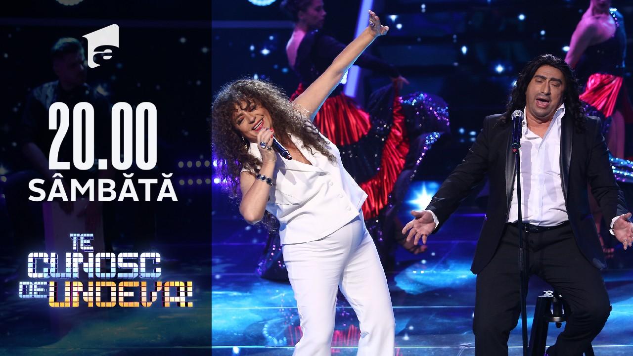 Adriana Trandafir și Romică Ţociu se transformă în Rosario Flores & El Cigala - Te quiero, te quiero