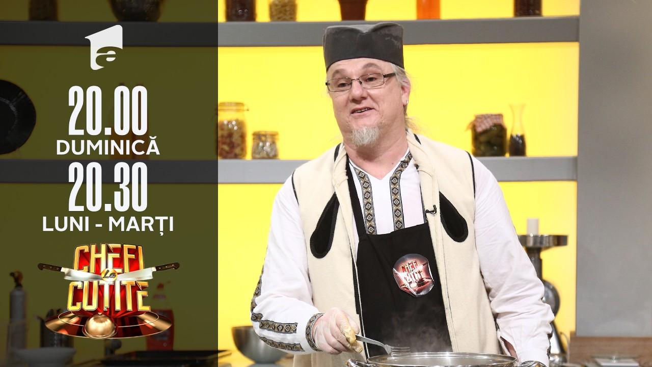 Chefii, serviți cu mâncare tradițională sârbească. Toma Popovici: Așa mâncam noi duminica