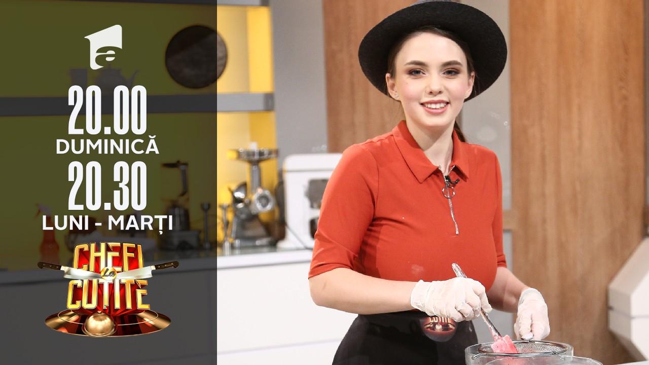 Clătite cu bacon. Alexandra Ungureanu, emoții maxime: Am simțit cum mi se oprește inima!