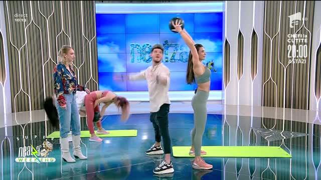 Antrenament pentru brațe! Fitness cu Diana Stejereanu