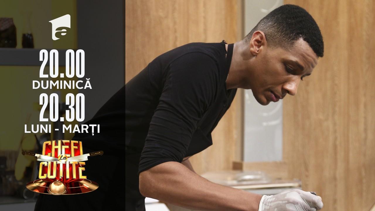 """Blvckmatias, show în bucătăria Chefi la cuțite: """"Am venit cu pile"""""""