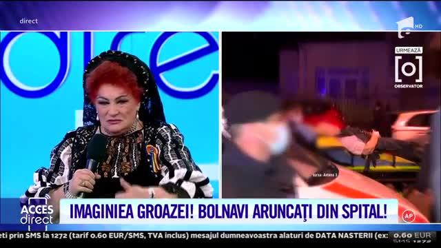 Elena Merişoreanu este revoltată. Mărturisiri din Spitalul de Ortopedie Foişor