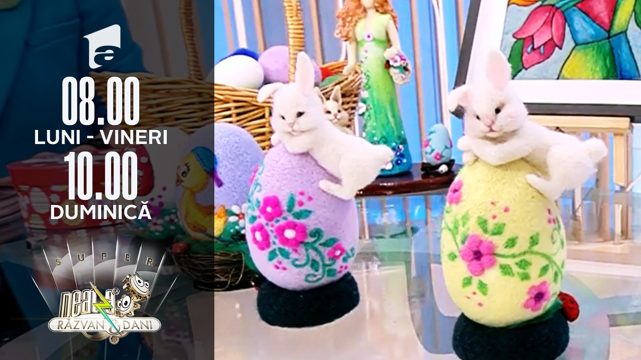 Decorațiuni de Paște unicat, handmande by Claudia Stroe