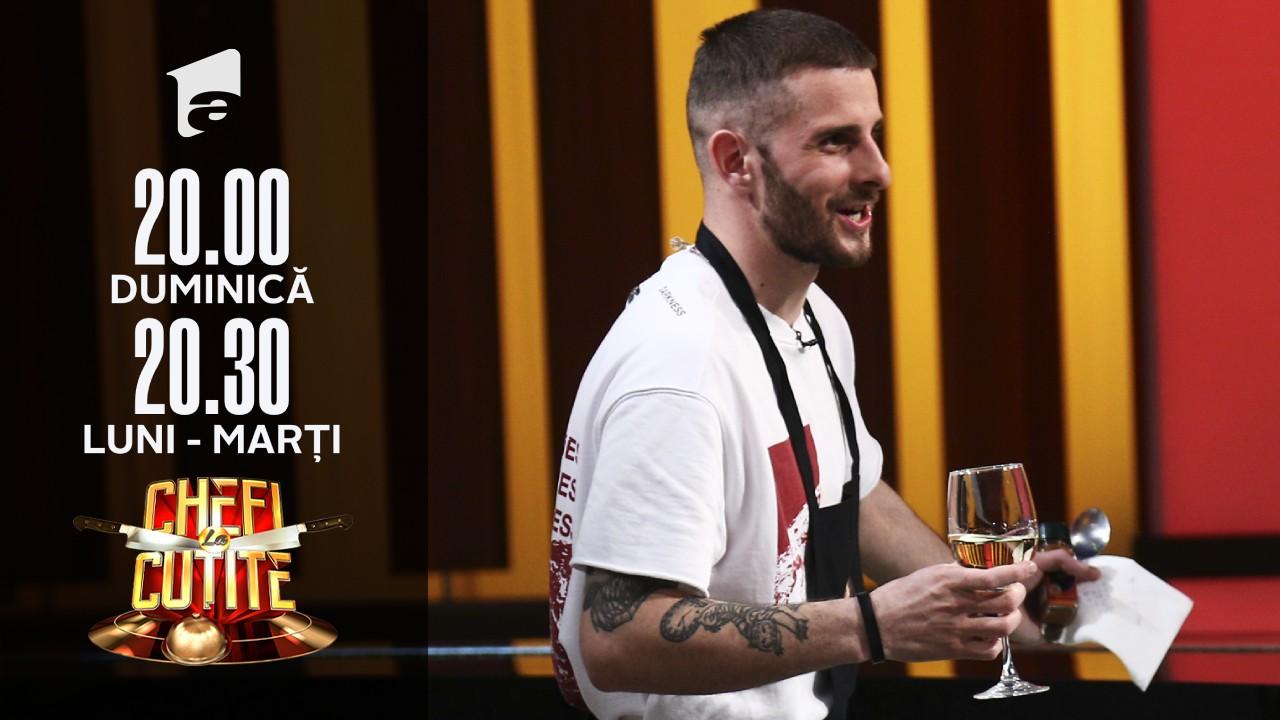 """Andrei Mihalache gătește papanași la Chefi la cuțite: """"Sunt disperat după ei"""""""