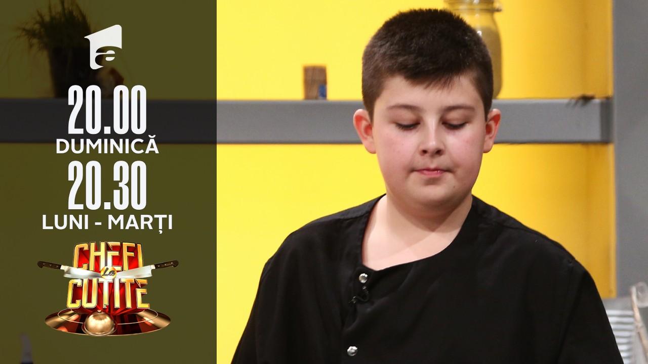 """Yaris Cristian Olaru își încearcă norocul la Chefi la cuțite: """"Sunt un mic ajutor de bucătar"""""""