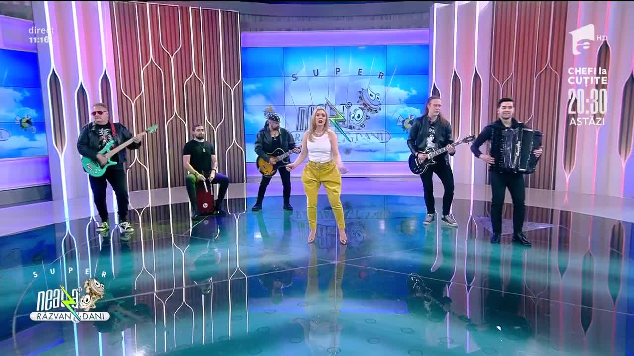 Crina Matei, Sigur că DA și Emi Ciobanu cântă piesa Ia uite-o, zău, la Neatza cu Răzvan și Dani