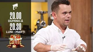 Iulian Buiac, poveste de viață impresionantă, la Chefi la cuțite