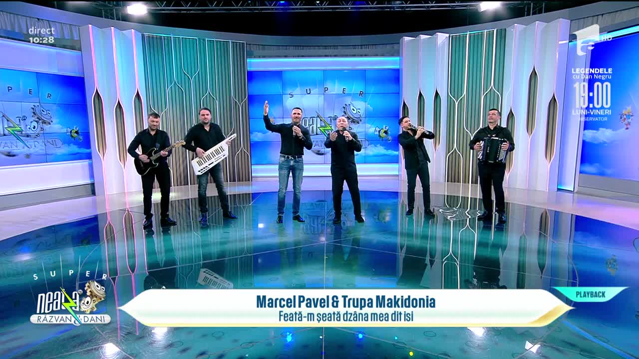 Marcel Pavel și Trupa Makidonia, colaborare inedită! Cântă piesa Feată-m șeată dzâna mea dit isi, la Neatza cu Răzvan și Dani