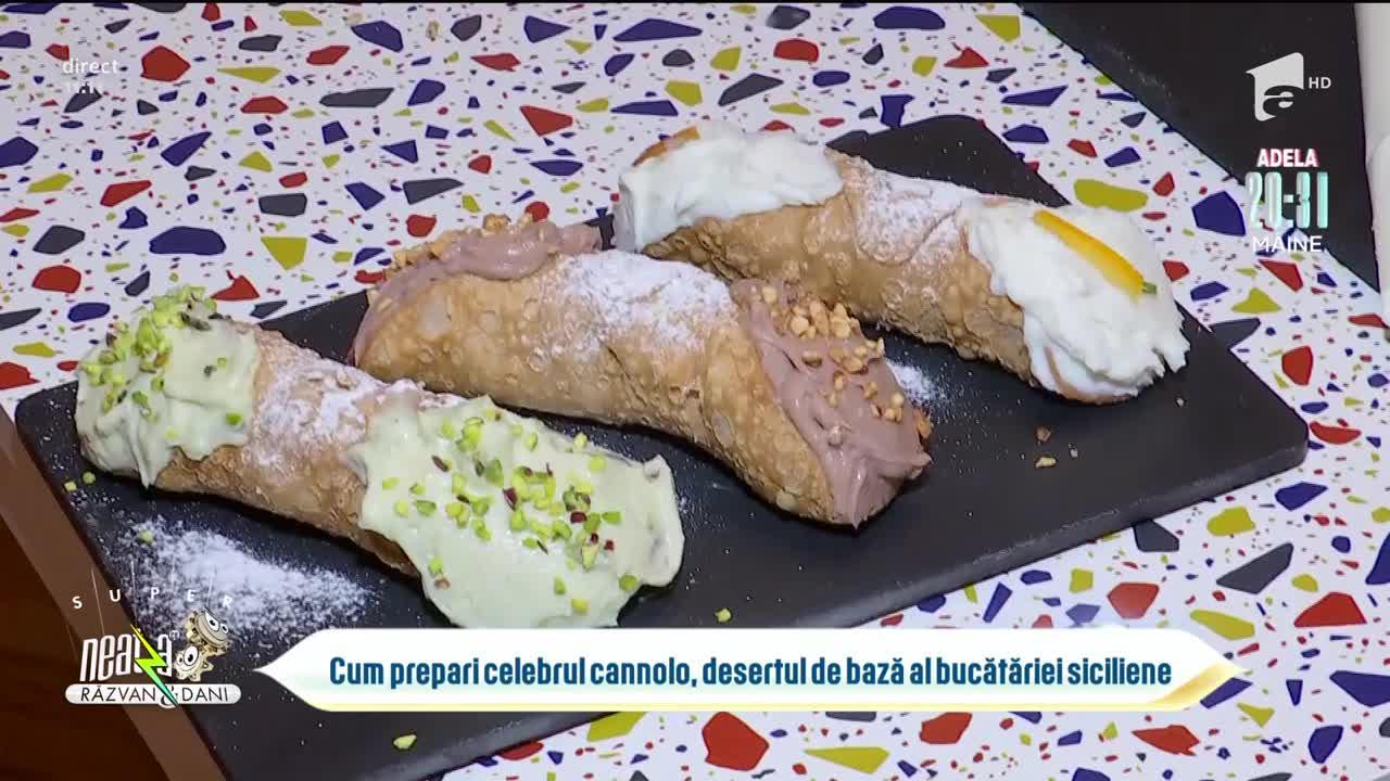 Cum prepari celebrul cannolo, desertul de bază al bucătăriei siciliene