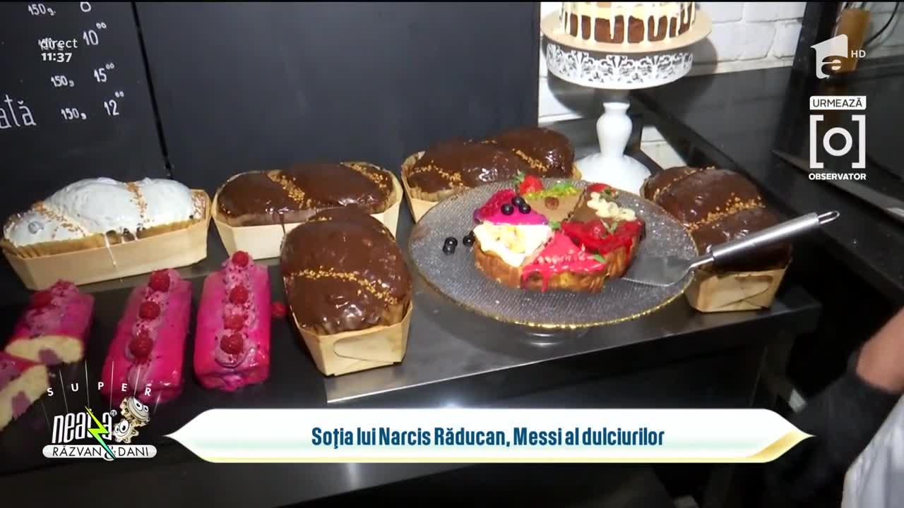 Soția lui Narcis Răducan, Messi al dulciurilor