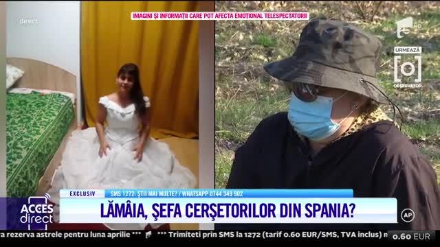 Lămâia, șefa cerșetorilor din Spania? Noi detalii despre atacul din platoul Acces Direct