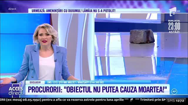 Procurorii au șters acuzația de tentativă de omor a Lămâiei Stănescu!
