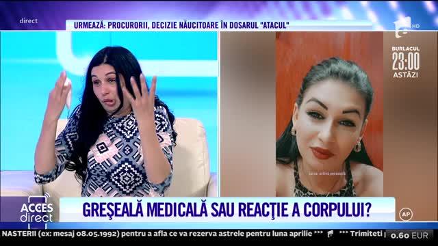 Ramona Florica trăieşte un chin de când ar fi fost mutilată de un medic stomatolog!