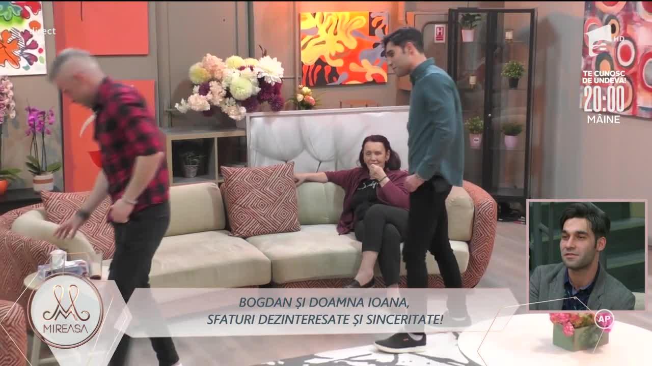 Mamele, la datorie! Sfaturi în dragoste pentru Bogdan și Valentin
